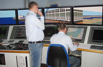 Image Providing Training Services to Crewmembers