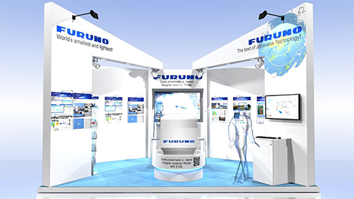 FURUNO Stand at Meteorological Technology World Expo 2015