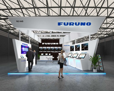 Image of FURUNO booth