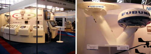 Image of Previous FURUNO Booth at METS